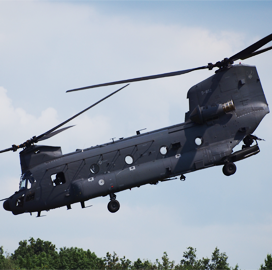 USAF Provides 2 Boeing-Built Chinook Helicopters to Australia as Part of Foreign Military Sales Program