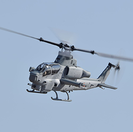 Navy Department Receives 100th Viper Helicopter Delivery; Col. Vasilios Pappas Quoted