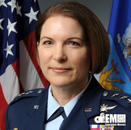 Air Force Headquarters Completes Realignment to Merge All EMS Operations; Mary O'Brien Quoted